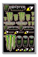 Planche  stickers déco ONE MONSTER (P)